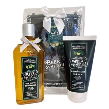 Geschenkset Bier Kosmetik Haarpflege Set