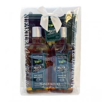 Geschenkset Männer Kosmetik Pflegedusche